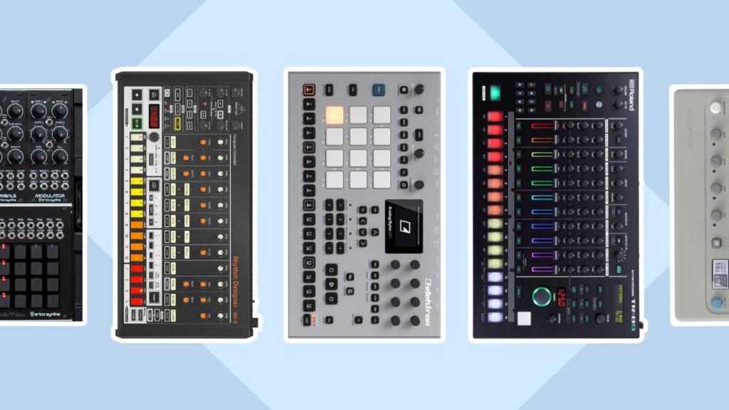 Die besten Drum Machines für Techno