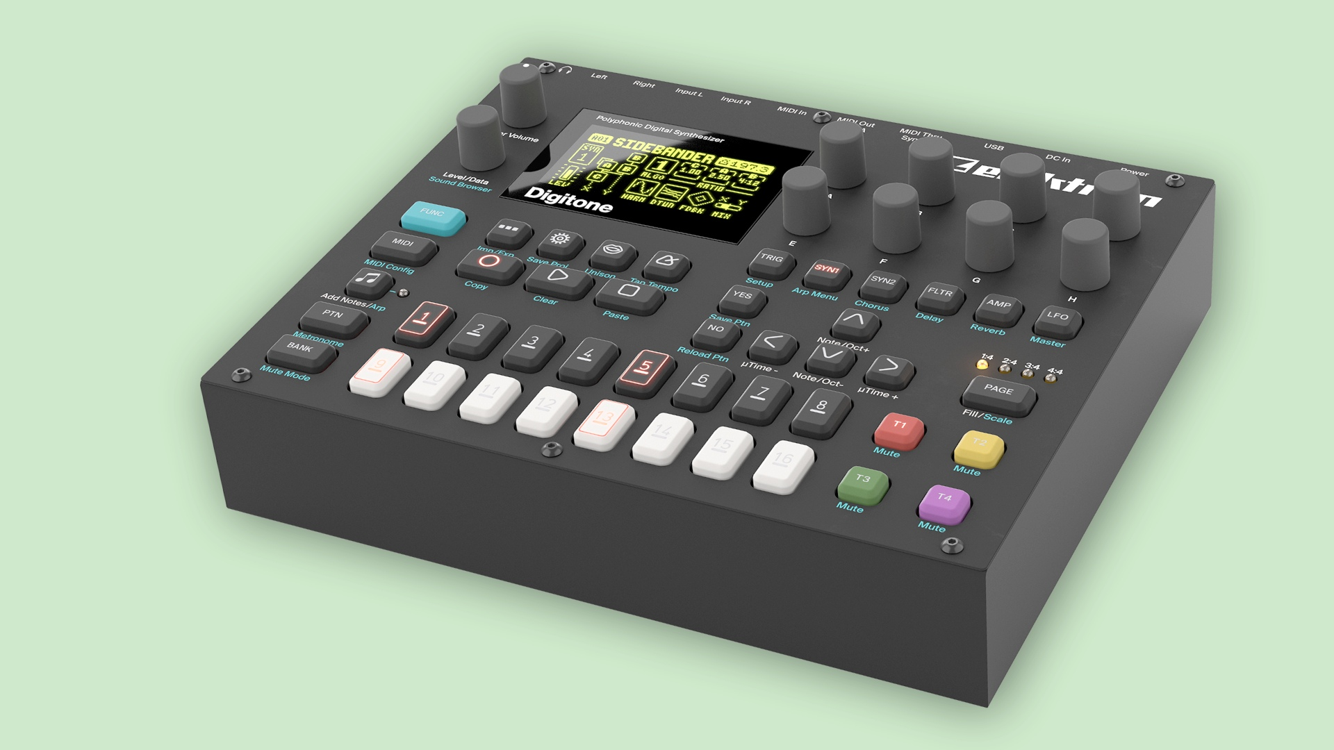Elektron Digitone Sounddesign