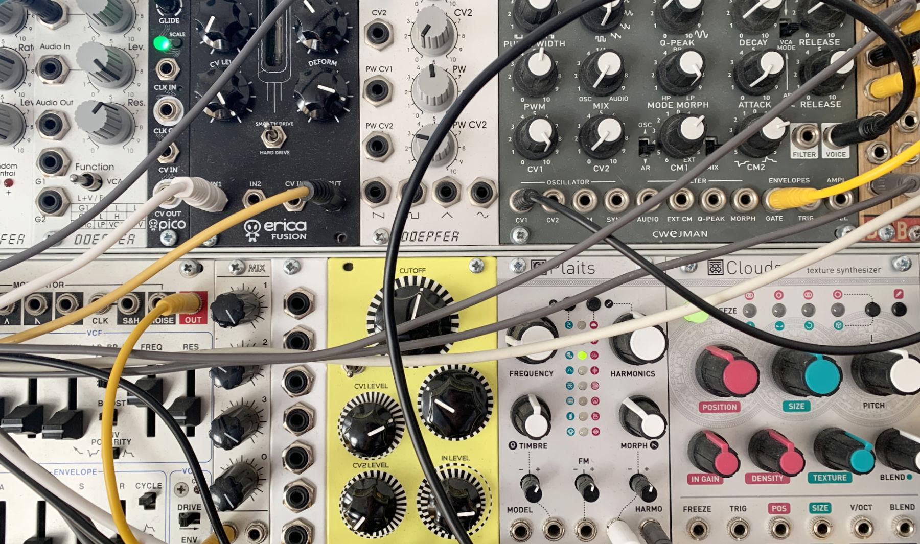 Modular System zusammenstellen. Das sind die ersten Schritte