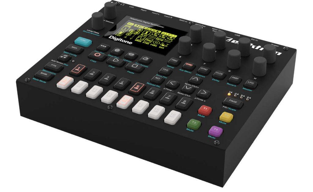 Techno produzieren: Das richtige Equipment. Hier Elektron Digitone