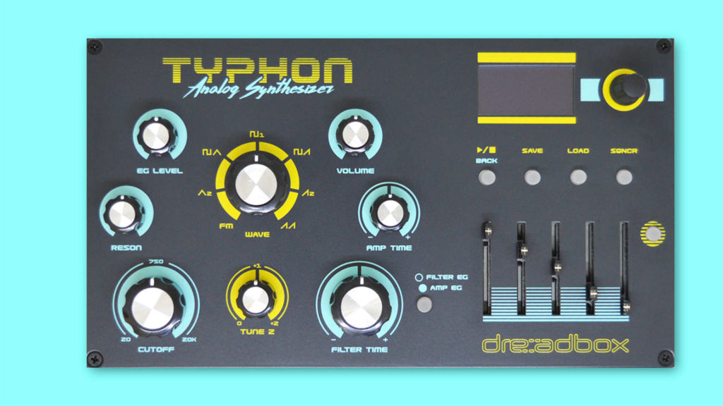 dreadbox typhon test und sound demo