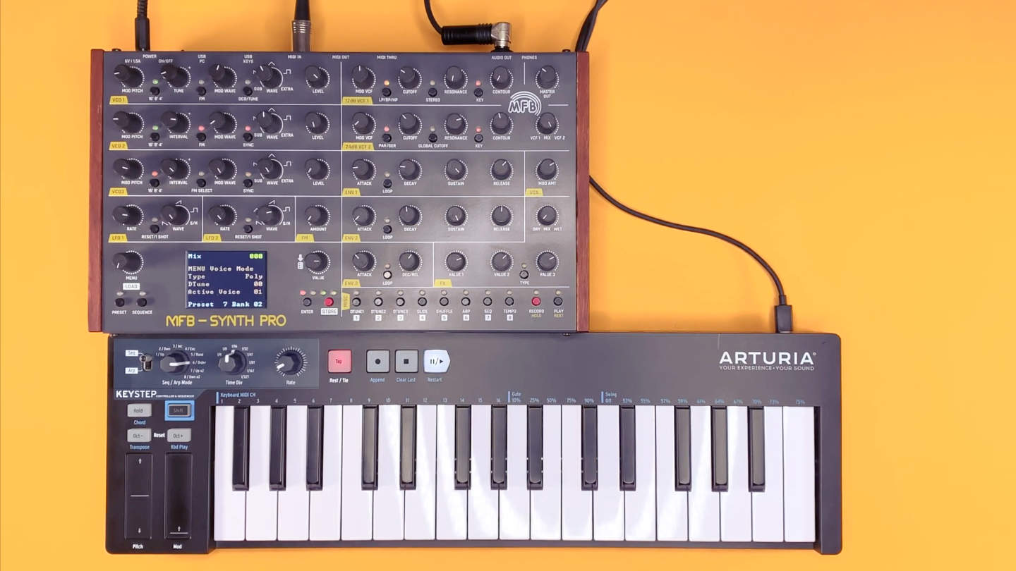 MFB Synth Pro Test und Sound Demo