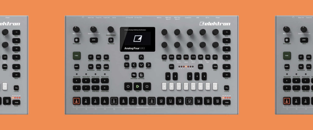Elektron Analog Four Sound Pack für Ambient, Techno und Electronica