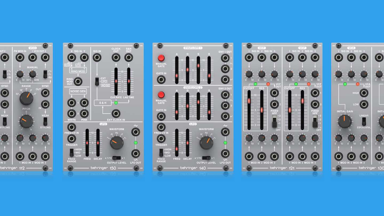 Behringer System 100 Test und Sound Demo