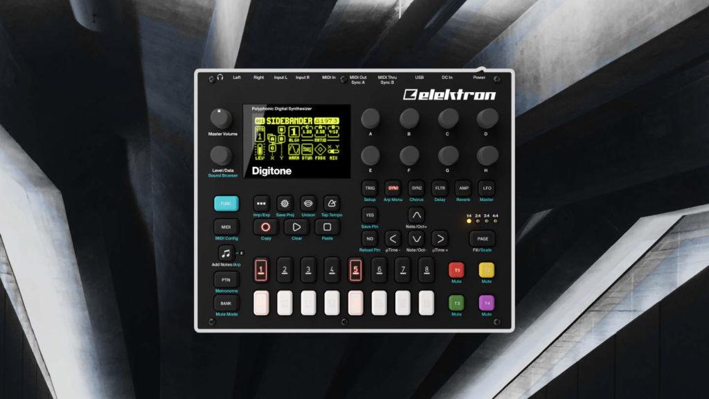 Techno und Ambient Sound Packs für Elektron Digitone