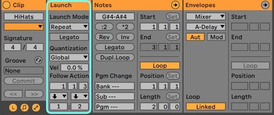 Clip Launch hilft dabei, komplexe Rhythmen live umzusetzen