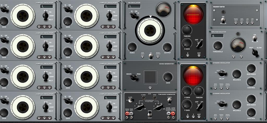 Für experimentelle Klangforscher ideal: Berna versetzt euch in ein Studio der 50er Jahre