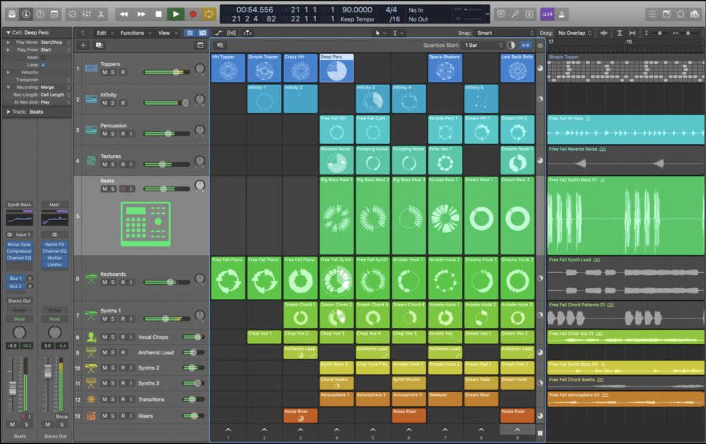 Logic hat sich spätestens mit der Version 11 zu einer exzellenten DAW für elektronische Musik entwickelt
