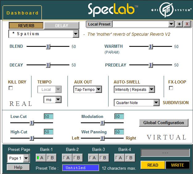 Speclab von Gfi - mit dem Editor lässt sich noch tiefer ins Sound Design einsteigen