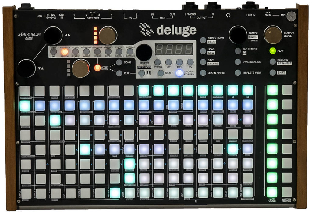 Synthstrom Deluge: Eine Groovebox der Oberklasse