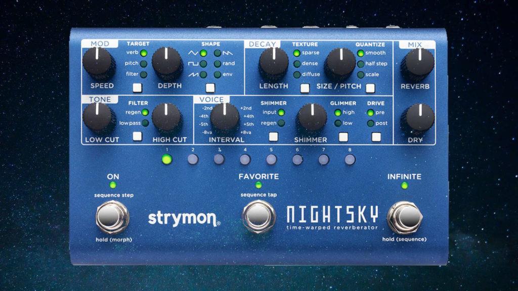 Strymon Nightsky Reverb Pedal für Synthesizer im Test