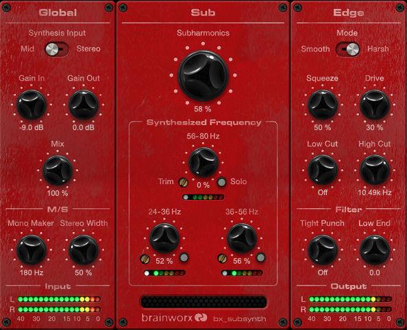 Techno produzieren mit mehr Subbass für Clubmusik. Das liefern spezialisierte PlugIns wie bx subsynth von Brainworx