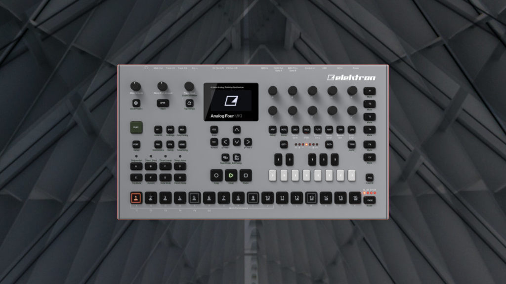 Elektron Analog Four Patches für Techno, Ambient und Electronica