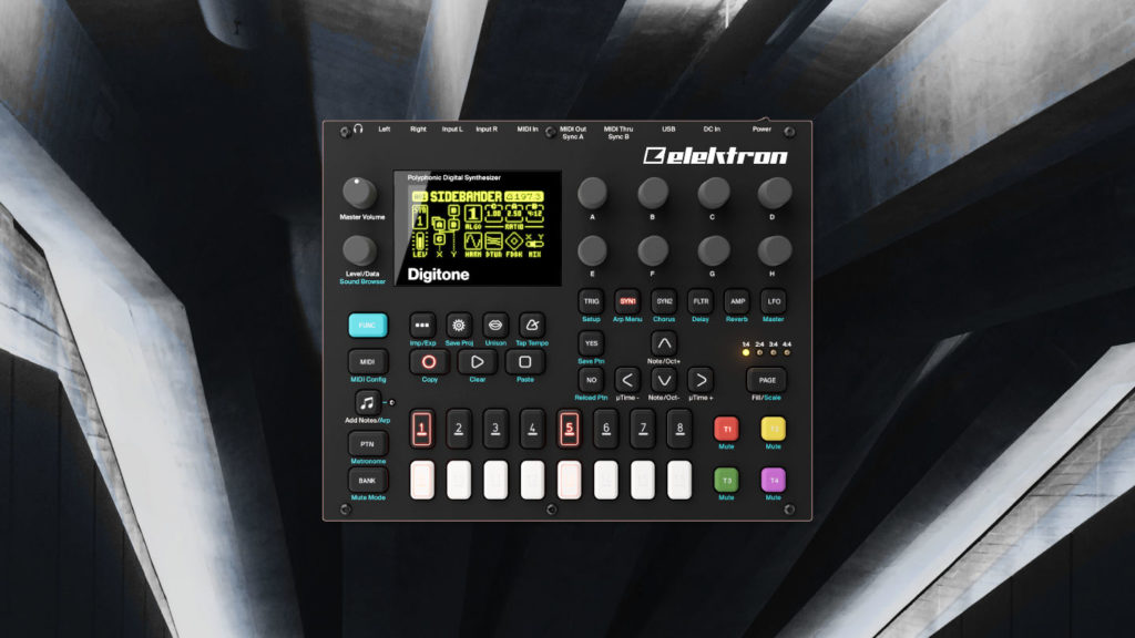 Elektron Digitone Patches für Techno, Ambient und Electronica.