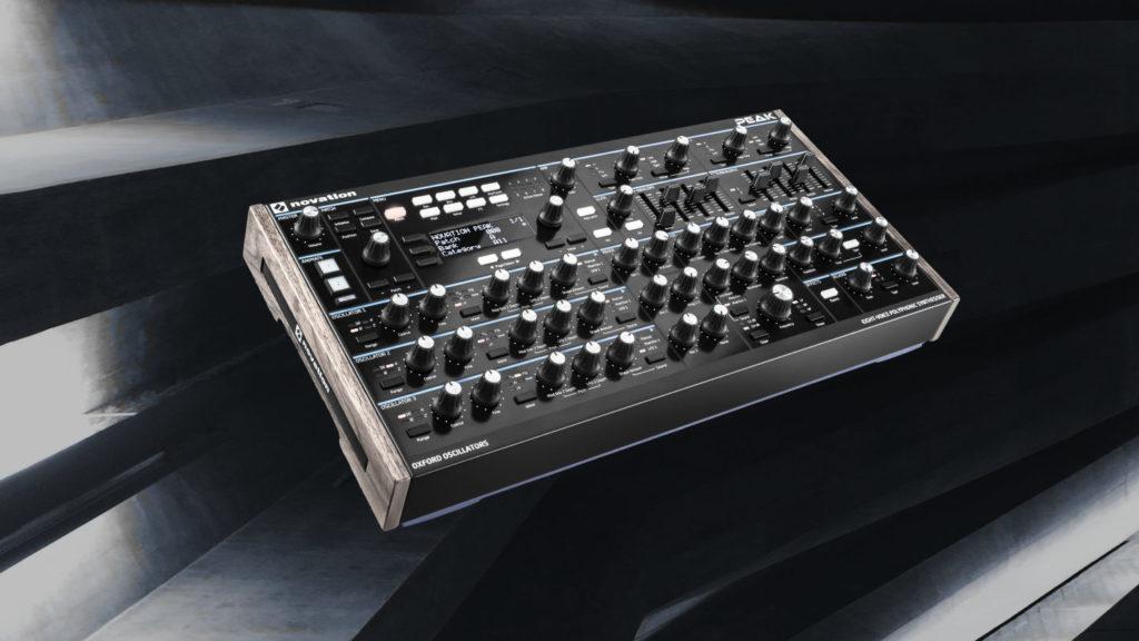Novation Peak Patches für Techno, Ambient und Electronica.
