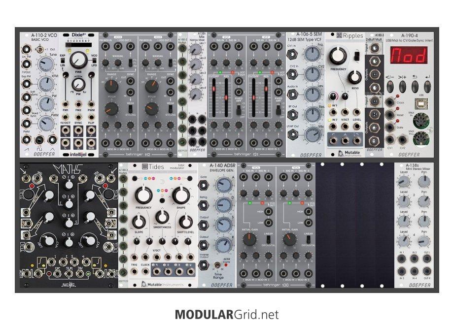 Modularsystem für Anfänger
