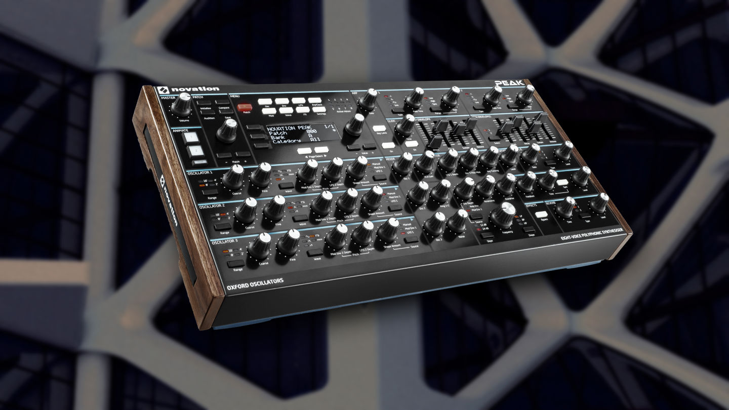 Novation Peak Sound Pack