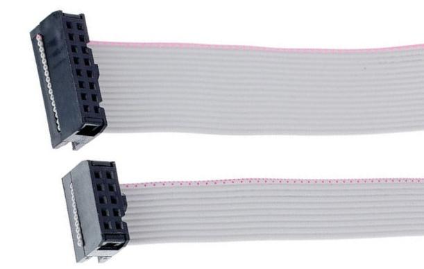 Eurorack Modularsystem anschließen - Flachbandkabel