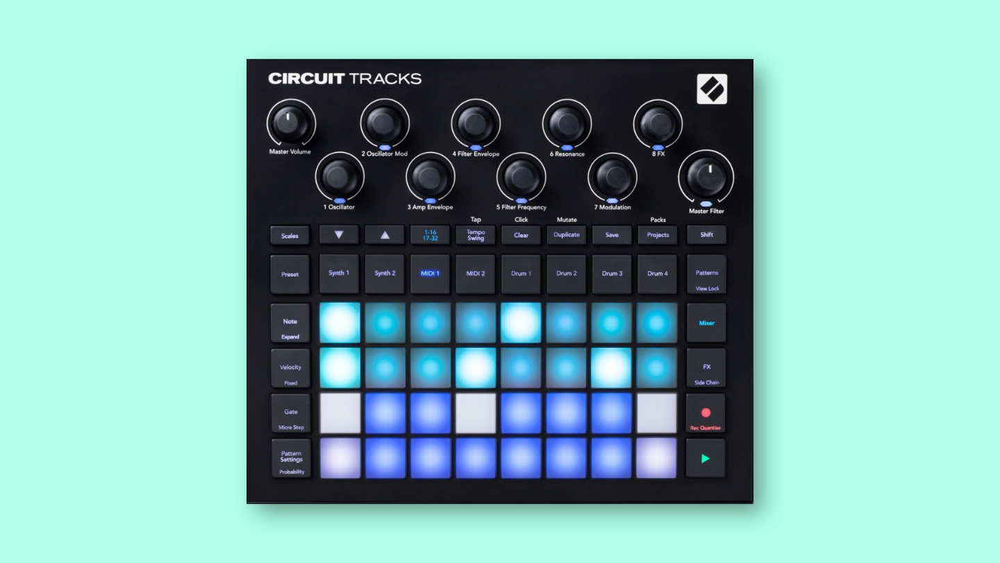 Novation Circuit Tracks Test und Demovideo