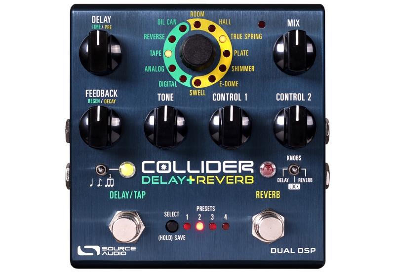 Source Audio Collider Test. Das Effektpedal von oben