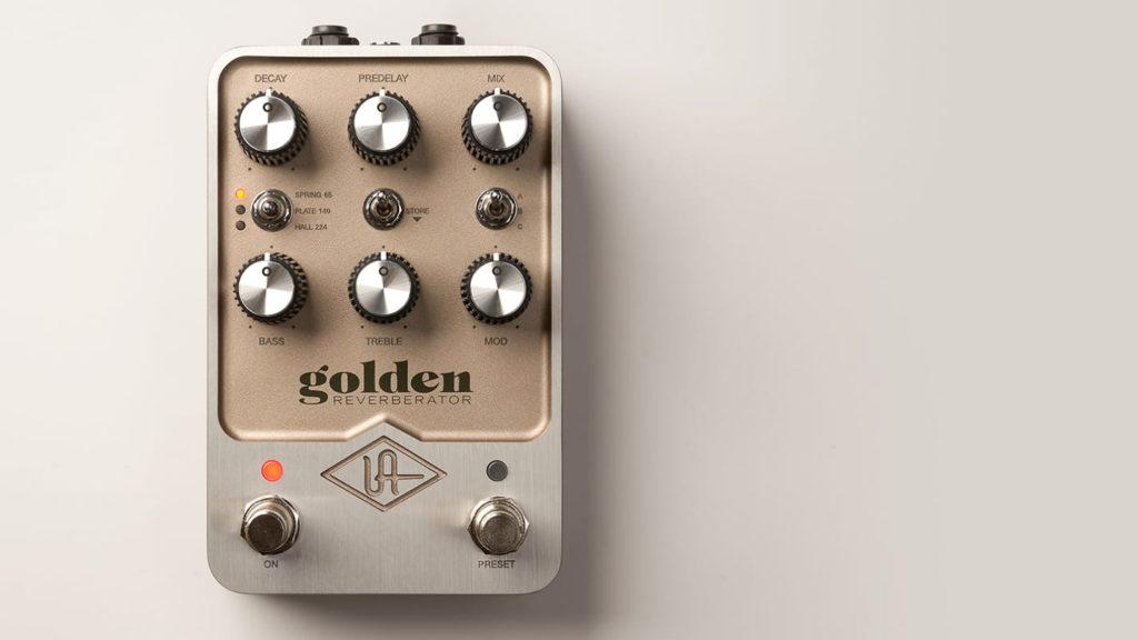 Universal Audio UAFX Golden Reverberator im Test mit Synthesizern