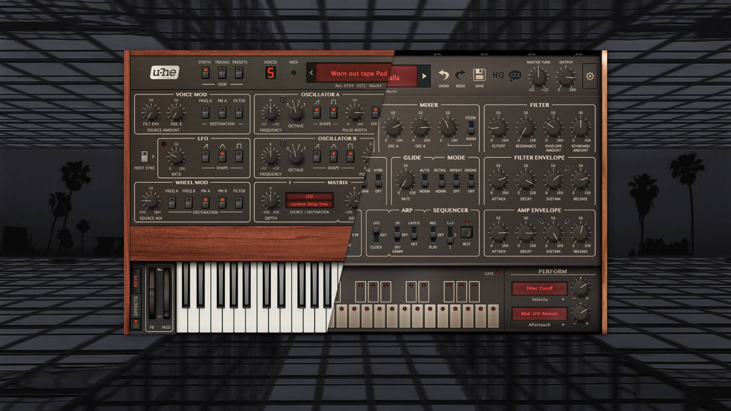 U-He Repro Patches: Reproduction Soundtrack mit Presets für Techno, Ambient und Electronica