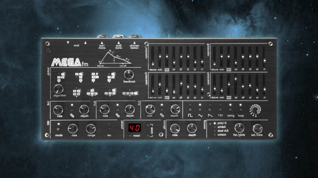 Twisted Electrons MEGAfm Presets für Techno und Ambient: Magnitude Sound Pack