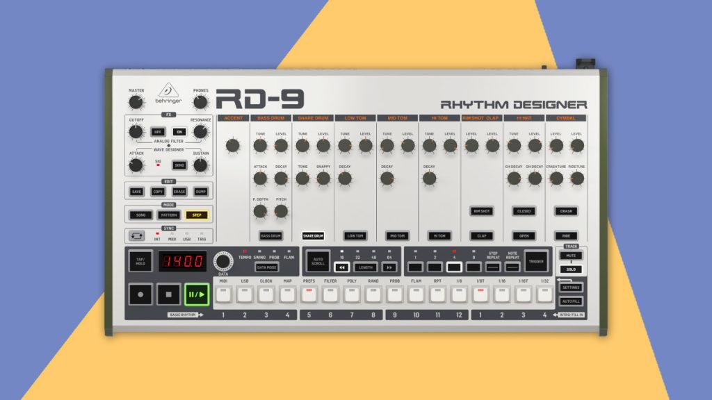 Behringer RD-9 Test