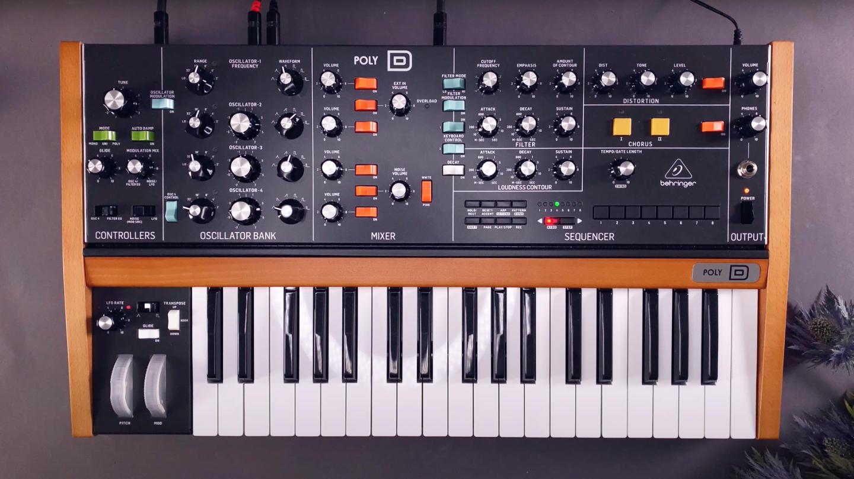 behringer poly-d sound design tutorial: 20 Patches für Techno und Ambient