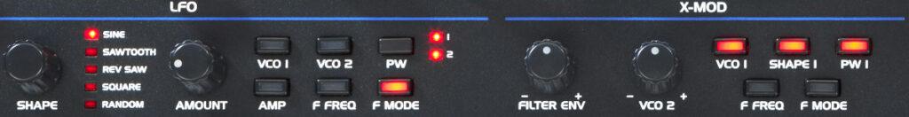 Sequential OB-6 Test: Modmatrix und LFO