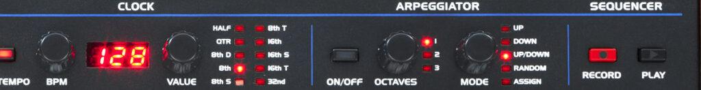 Sequential OB-6 Test: Sequencer und Arpeggiator