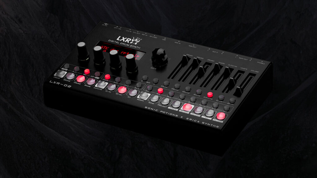 Erica Synths LXR-02 Sound Pack