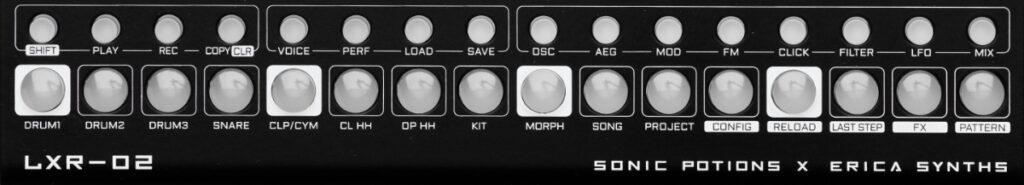 Klassisches Lauflicht-Prinzip beim Sequencer